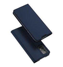 Dux Ducis Dux Ducis - Pro Serie Slim wallet hoes -Samsung Galaxy A52 - Blauw