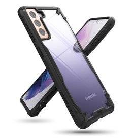 Ringke Ringke - Fusion X Guard backcover hoes - Samsung Galaxy S21 - Zwart