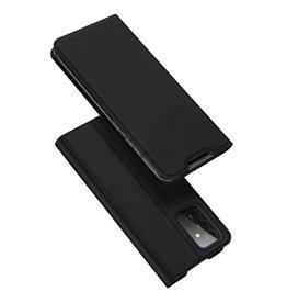 Dux Ducis Dux Ducis - Pro Serie Slim wallet hoes -Samsung Galaxy A72  - Zwart