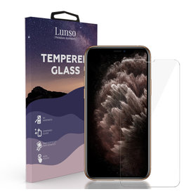Lunso Lunso - Gehard Beschermglas - Full Cover Tempered Glass - iPhone 11 Pro Max