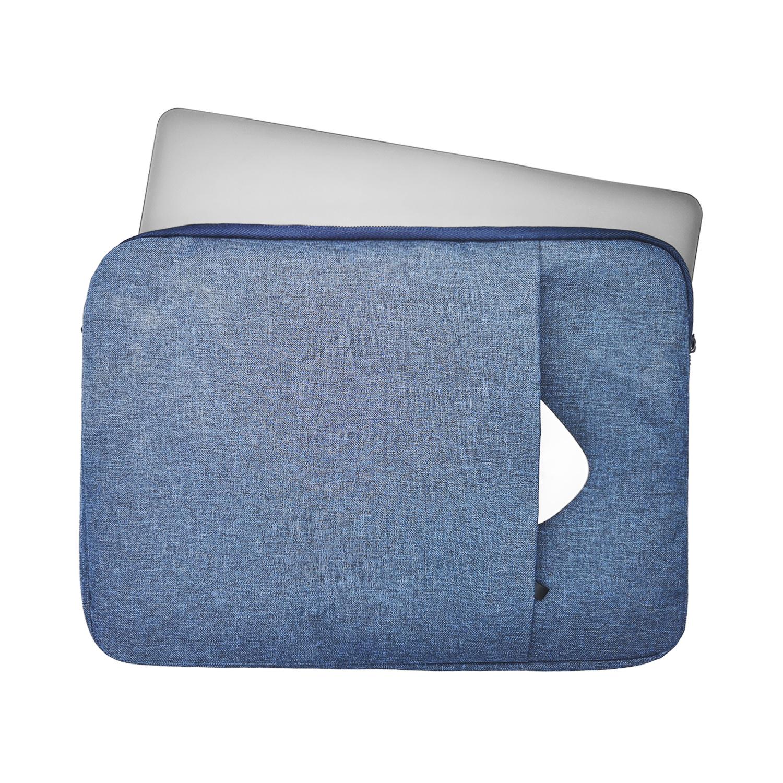 Lunso Stijlvolle zachte sleeve hoes Lichtblauw met neopreen bescherming voor 13 inch laptops