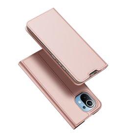 Dux Ducis Dux Ducis - Pro Serie Slim wallet hoes - Xiaomi Mi 11 - Roze Goud