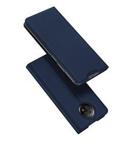 Dux Ducis Dux Ducis - Pro Serie Slim wallet hoes - Xiaomi Redmi Note 9 -  Blauw