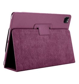 Lunso Lunso - Stand flip sleepcover hoes - iPad Pro 11 inch (2020) - Paars