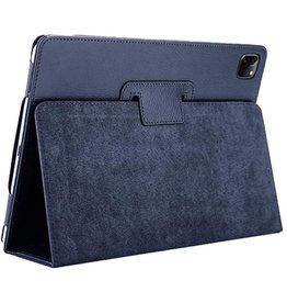 Lunso Lunso - Stand flip sleepcover hoes - iPad Pro 11 inch (2020) - Blauw