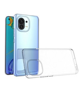 Lunso Lunso - Softcase hoes -  Xiaomi Mi 11 - Transparant