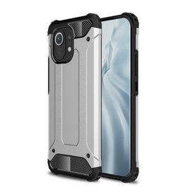 Lunso Lunso - Armor Guard backcover hoes - Xiaomi Mi 11 - Zilver
