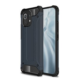 Lunso Lunso - Armor Guard backcover hoes - Xiaomi Mi 11 - Blauw