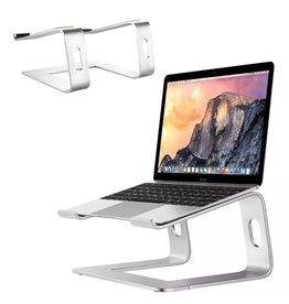 Lunso Universele aluminium Laptop Stand / MacBook Stand - Zilver