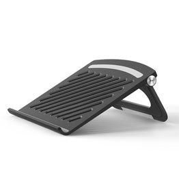 Lunso Universele verstelbare Laptop Stand / MacBook Stand - Zwart