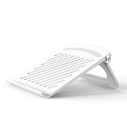 Lunso Universele verstelbare Laptop Stand / MacBook Stand - Wit