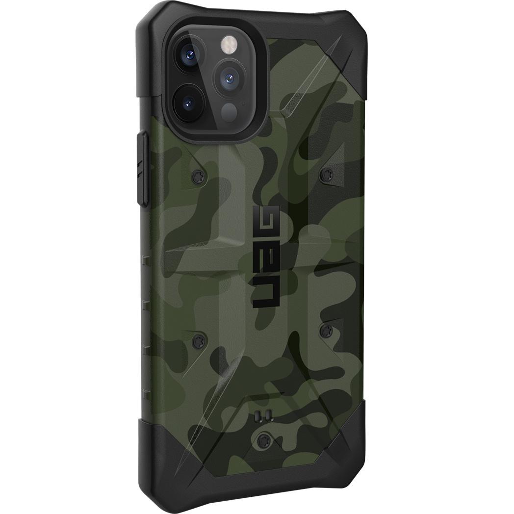 Urban Armor Gear Pathfinder backcover hoes Camouflage voor de iPhone 12 Mini en iPhone 12 Pro