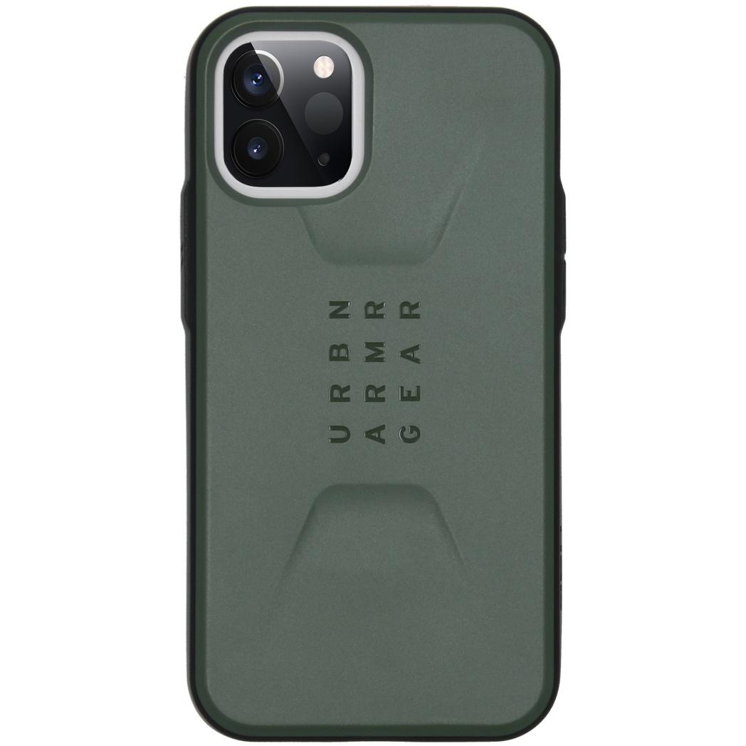 Urban Armor Gear Civilian backcover hoes Groen voor de iPhone 12 Mini