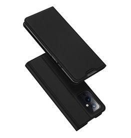 Dux Ducis Dux Ducis - Pro Serie Slim wallet hoes - OnePlus 9 - Zwart