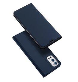 Dux Ducis Dux Ducis - Pro Serie Slim wallet hoes - OnePlus 9 Pro - Blauw