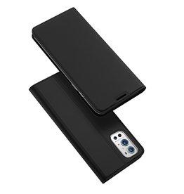 Dux Ducis Dux Ducis - Pro Serie Slim wallet hoes - OnePlus 9 Pro - Zwart