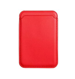 Lunso Lunso - Magsafe cardholder / pasjeshouder - iPhone 12 Serie - Rood