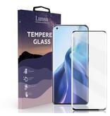 Lunso Gehard beschermglas met Zwarte Rand (Tempered Glass) voor de Xiaomi Mi 11