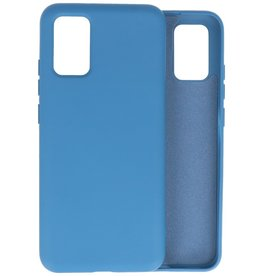 Lunso Lunso - Softcase hoes -  Samsung Galaxy A02s  - Blauw
