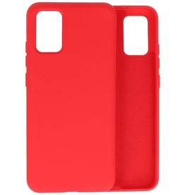 Lunso Lunso - Softcase hoes -  Samsung Galaxy A02s  - Rood