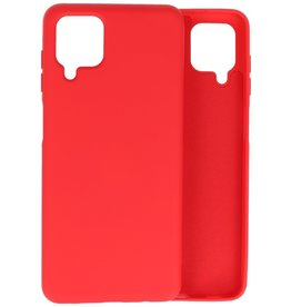 Lunso Lunso - Softcase hoes -  Samsung Galaxy A12  - Rood