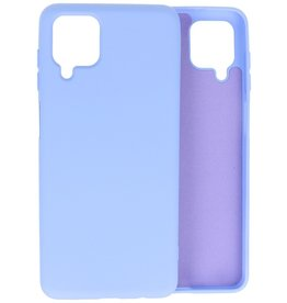 Lunso Lunso - Softcase hoes -  Samsung Galaxy A12  - Lavendel