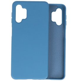 Lunso Lunso - Softcase hoes -  Samsung Galaxy A32  - Blauw