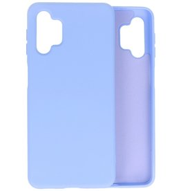 Lunso Lunso - Softcase hoes -  Samsung Galaxy A32  - Lavendel