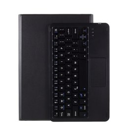 Lunso Lunso - Afneembare Keyboard Hoes - Lenovo Tab P11  - Zwart