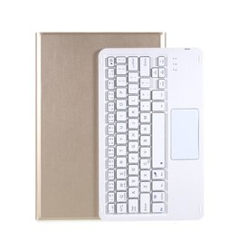 Lunso Lunso - Afneembare Keyboard Hoes - Lenovo Tab P11  - Goud
