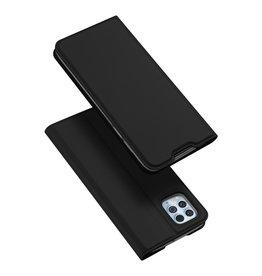 Dux Ducis Dux Ducis - Pro Serie Slim wallet hoes - Motorola Moto G100  - Zwart