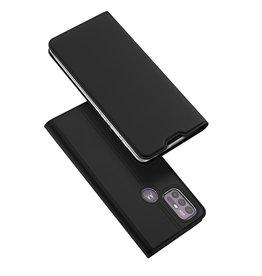 Dux Ducis Dux Ducis - Slim bookcase hoes - Motorola Moto G10 / Moto G30 - Zwart