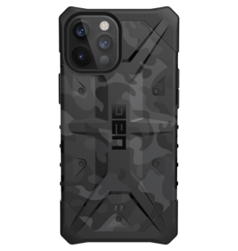 Urban Armor Gear UAG - Pathfinder backcover hoes - iPhone 12 Pro Max - Camouflage Grijs + Lunso Tempered Glass