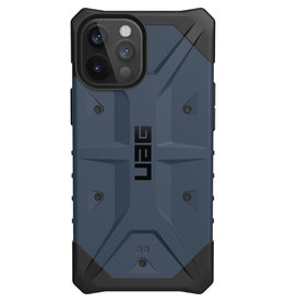 Urban Armor Gear UAG - Pathfinder backcover hoes - iPhone 12 Pro Max - Blauw + Lunso Tempered Glass