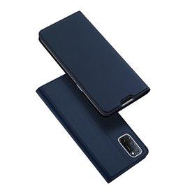 Dux Ducis Dux Ducis - Slim bookcase hoes - Oppo A72 - Blauw