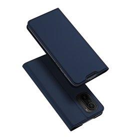 Dux Ducis Dux Ducis - Slim bookcase hoes - Xiaomi Poco F3 - Blauw