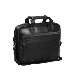 Chesterfield Chesterfield - Calvi Lederen Laptoptas - 15 inch - Zwart