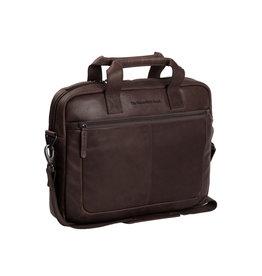 Chesterfield Chesterfield - Calvi Lederen Laptoptas - 15 inch - Bruin