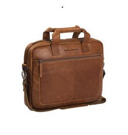Chesterfield Chesterfield - Calvi Lederen Laptoptas - 15 inch - Cognac