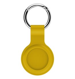 Lunso Lunso - Houder met sleutelhanger - Apple Airtags - Geel