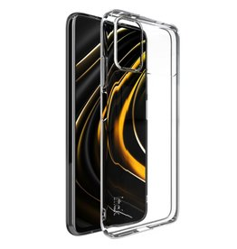 Lunso Lunso - Softcase hoes -  Xiaomi Poco M3 - Transparant
