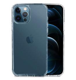 Hoyde Høyde - German Bayer TPU Softcase hoes - Verkleurd Niet - iPhone 12 Pro Max - Transparant