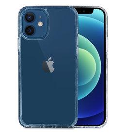 Hoyde Høyde - German Bayer TPU Softcase hoes - Verkleurd Niet - iPhone 12 Mini - Transparant