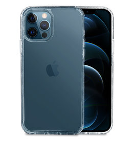 Hoyde Høyde - German Bayer TPU Softcase hoes - Verkleurd Niet - iPhone 12 / iPhone 12 Pro - Transparant