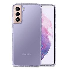 Hoyde Høyde - German Bayer TPU Softcase hoes - Verkleurd Niet - Samsung Galaxy S21 - Transparant