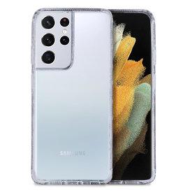 Hoyde Høyde - German Bayer TPU Softcase hoes - Verkleurd Niet - Samsung Galaxy S21 Ultra - Transparant