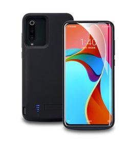 Lunso Lunso - Battery Power Case hoes - Samsung Galaxy S21 Ultra - 5000 mAh - Zwart