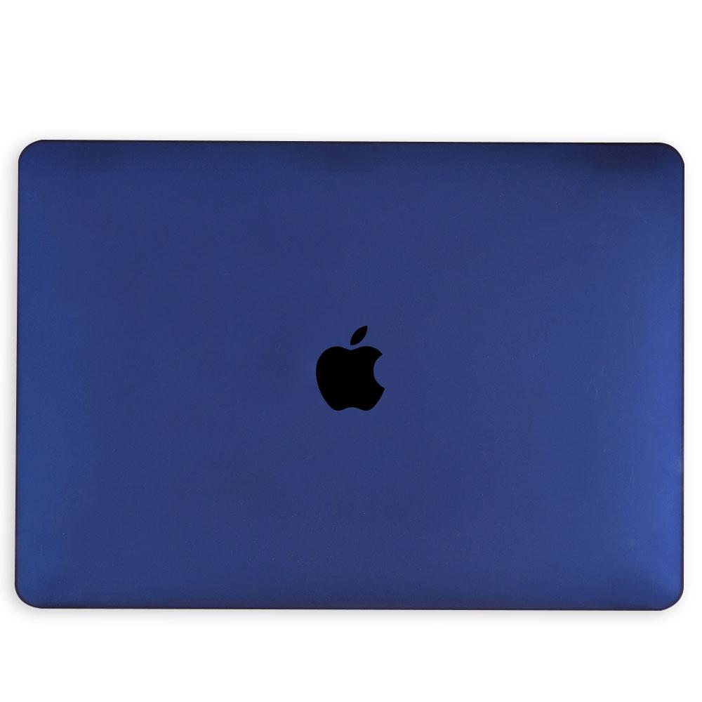 Lunso MacBook Pro 16 inch cover beschermhoes Mat Marineblauw