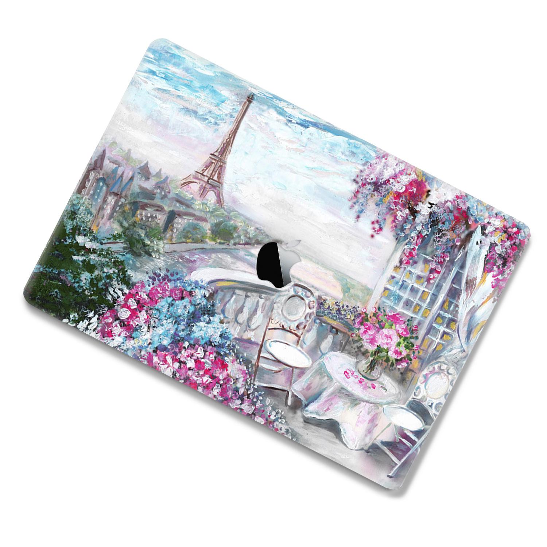 Lunso MacBook Pro 16 inch cover beschermhoes Paris Painting
