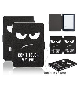 Lunso Lunso - sleepcover hoes - Kobo Clara HD - Don't Touch My Pad